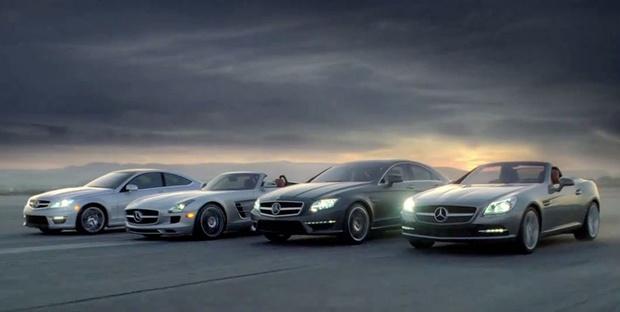 Novidades da Mercedes-Benz apresentadas durante o Super Bowl - Crédito: Foto: Divulgação