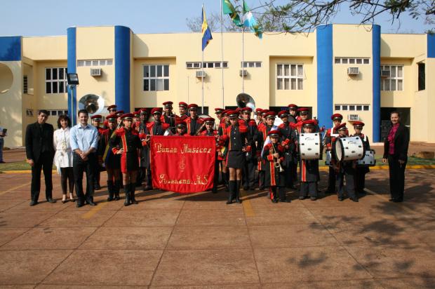 Banda Municipal de Ivinhema é considerada a 3ª melhor do MS - Crédito: Foto : Arquivo/PROGRESSO