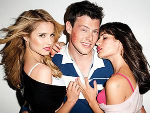 Ensaio sensual com os atores de \'Glee\', para a revista \'GQ\' - Crédito: Foto: Divulgação