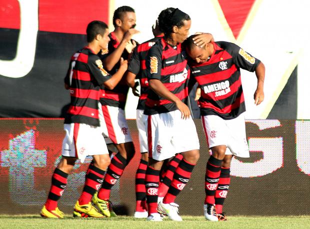 Deivid, atacante do Flamengo - Crédito: Crédito: Maurício Val/VIPCOMM