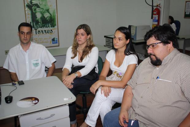 Representantes da Associação José Humberto Teixeira, Irene Junqueira, Natalia  Potrich e Racib Panag - Crédito: Foto: Hédio Fazan/PROGRESSO