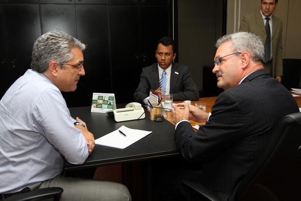 Geraldo confirma agenda de ministro Alexandre Padilha em Dourados - Crédito: Foto : Divulgação