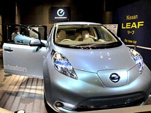 Nissan Leaf - Crédito: Foto: Divulgação