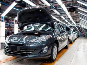Palnta da Peugeot na Argentina - Crédito: Foto: Divulgação