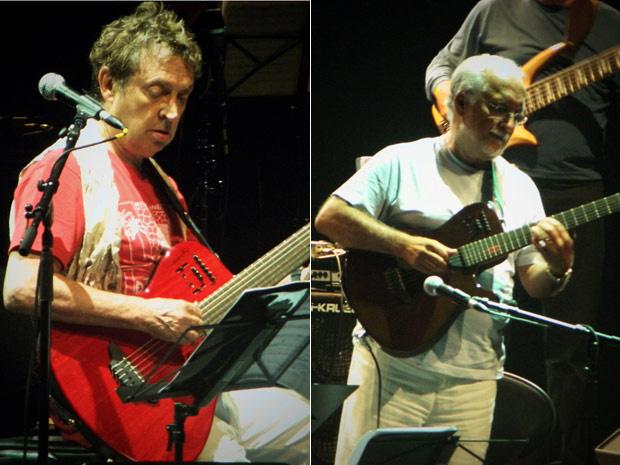 O guitarrista Andy Summers se apresentou nesta terça-feira - Crédito: Foto: Alvaro Ramos/Divulgação