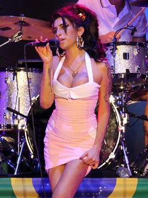 Amy Winehouse no Brasil - Crédito: Foto: AP