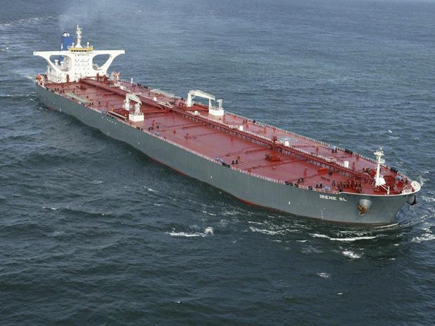 O petroleiro Irene SL em foto de arquivo - Crédito: Foto: Reuters
