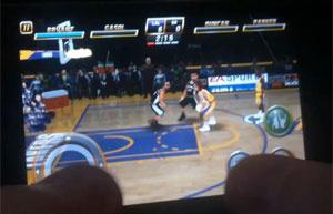 \'NBA Jam\' para iPhone usa tela sensível ao toque  - Crédito: Foto: Divulgação