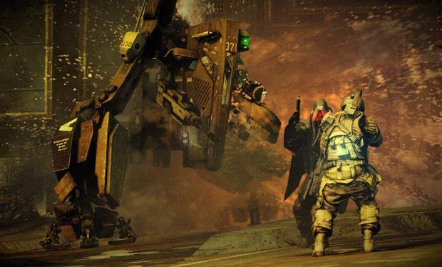 \'Killzone 3\' é jogo de tiro futurista que traz confrontos com muita ação - Crédito: Foto: Divulgação