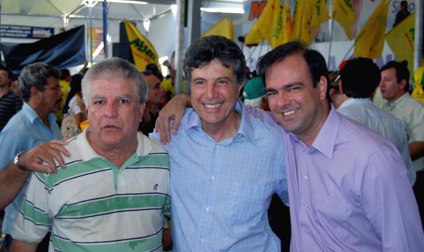 """Ademir Osiro durante a campanha eleitoral: """"fui injustiçado pela denúncia do MPE"""" - Crédito: Foto: Arquivo/PROGRESSO"""