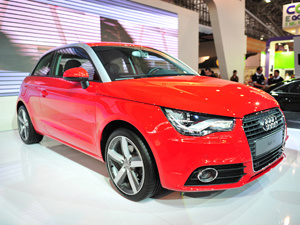 Audi A1 foi mostrado no Salão do Automóvel de SP  - Crédito: Foto: Raul Zito/ G1