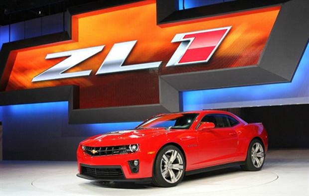 GM Camaro ZL1 - Crédito: Foto: AFP