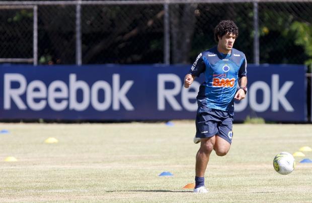 Ortigoza, atacante do Cruzeiro - Crédito: Crédito: Washington Alves/VIPCOMM