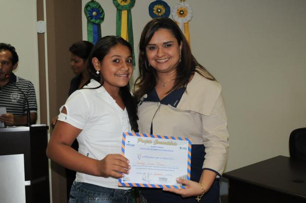Projeto Olímpio Vargas primeira de Maracaju dama Giovana - Crédito: Foto : Divulgação