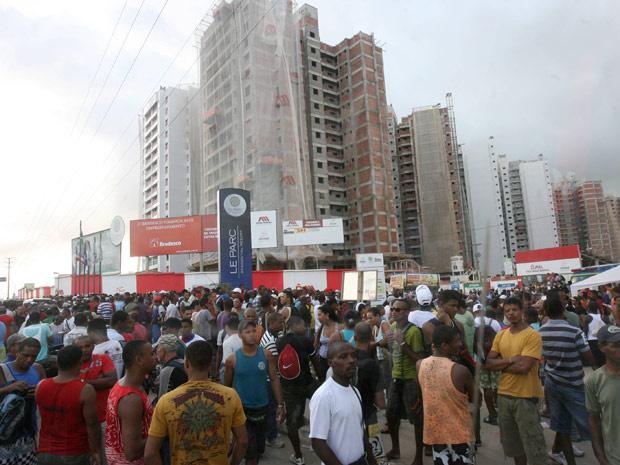 Manifestantes circularam pelas principais avenidas de Salvador até o Centro da cidade - Crédito: Foto: Arestides Baptista/Ag. A Tarde/Folhapress