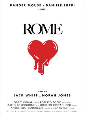 Detalhe do pôster promocional do álbum \'Rome\'  - Crédito: Foto: Divulgação