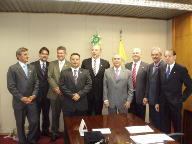 Deputados conquistam apoio de Michel Temer para nova corrente do PMDB - Crédito: Foto: Divulgação
