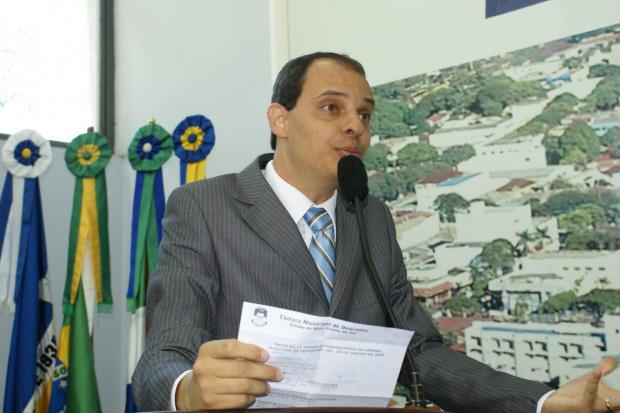 Paulo Henrique entregou ontem o pedido de desfiliação do DEM - Crédito: Foto: Arquivo/PROGRESSO