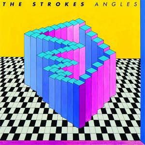 Capa de \'Angles\', da banda americana The Strokes  - Crédito: Foto: Reprodução/Site do Artista