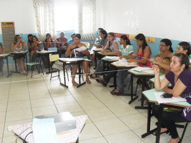 O curso aconteceu nas dependências da pré-escola Giancarlos - Crédito: Foto : Divulgação
