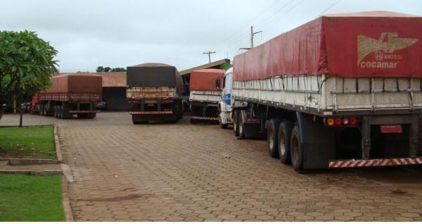 No total foram apreendidos 2.800 caixas de cigarros contrabandeados. - Crédito: Foto: Divulgação