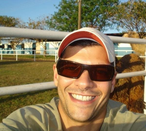Foto de Flávio no Orkut Reprodução de Campo Grande News -