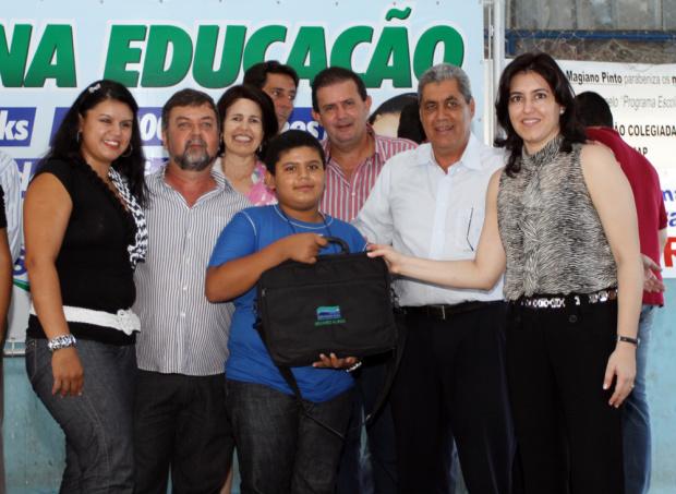 Governo premia melhores estudantes de Mato Grosso do Sul com notebooks - Crédito: Foto : Tâmna Waqued