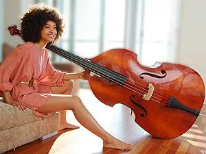A cantora Esperanza Spalding - Crédito: Foto: Divulgação