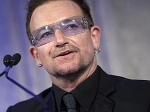 Bono, vocalista do U2 - Crédito: Foto: Reuters