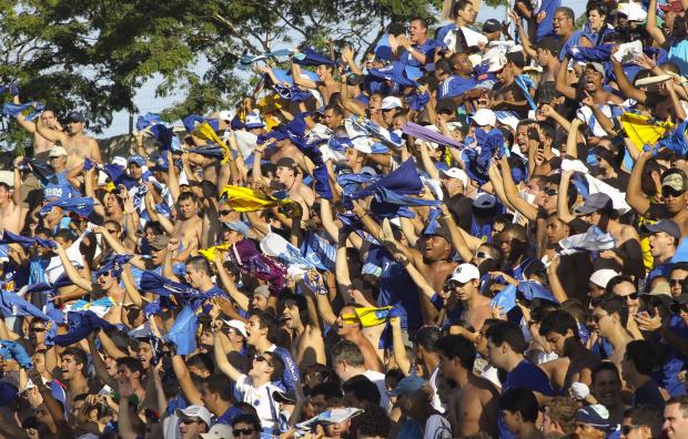 Torcida do Cruzeiro em partida do Brasileiráo - Crédito: Crédito: Washington Alves/VIPCOMM