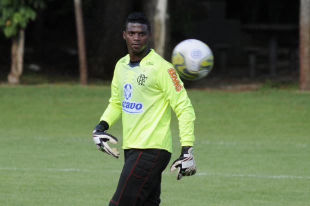 Felipe,goleiro Flamengo - Crédito: Crédito: Cesar Augusto/VIPCOMM