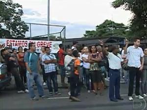 Rodoviários e empresas de transporte vão se reunir nesta terça-feira - Crédito: Foto: Reprodução/TV Globo