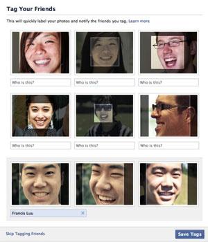 Recurso do Facebook marca amigos em fotos automaticamente - Crédito: Foto: Reprodução