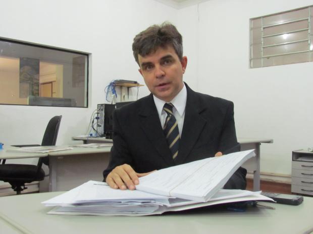 Luis Fernando Lopes Ortis diz que processo contra vereadores  é inquisitório - Crédito: Foto: Hédio fazan/PROGRESSO