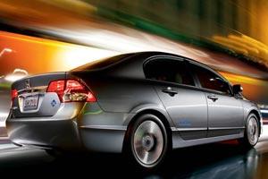 Honda Civic GX - Crédito: Foto: Divulgação