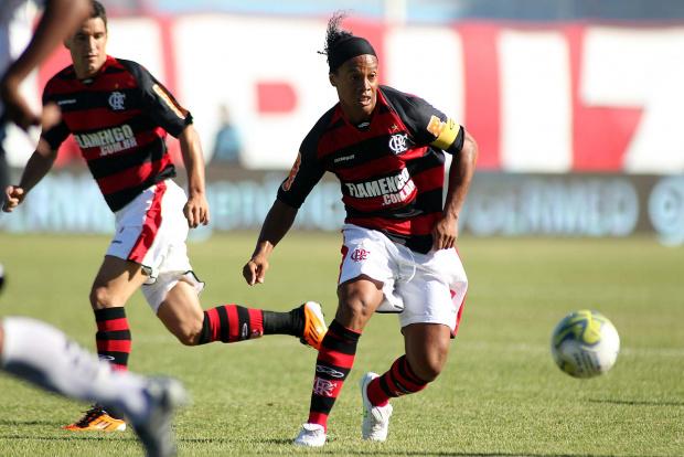 Ronaldinho Gaúcho, atacante do Flamengo - Crédito: Crédito: Maurício Val/VIPCOMM