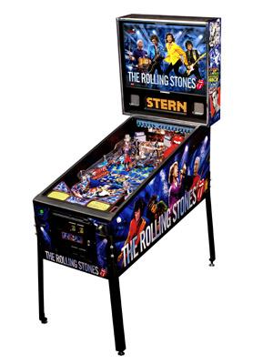 A máquina de pinball dos Rolling Stones - Crédito: Foto: Divulgação