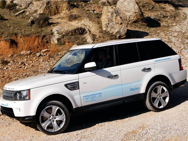Range Rover Sport Hybrid Plug-in - Crédito: Foto: Divulgação