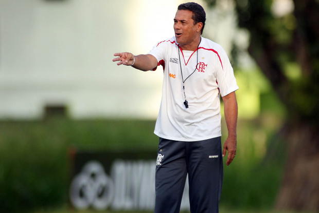Vanderlei Luxemburgo, técnico do Flamengo - Crédito: Crédito: Maurício Val/VIPCOMM