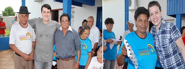 """O prefeito de Vicentina """"Marquinhos do Dedé"""" na abertura do Conviver - Crédito: Foto : Rogério Sanches"""