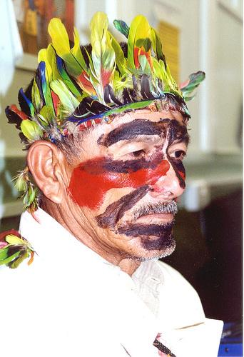 Cacique Marcos Veron morto em janeiro de 2003 - Crédito: Foto: arquivo/PROGRESSO
