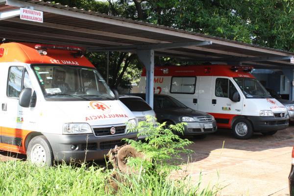 Ambulâncias do Samu vão ser ativadas até terça-feira - Crédito: Foto: Hédio Fazan/PROGRESSO