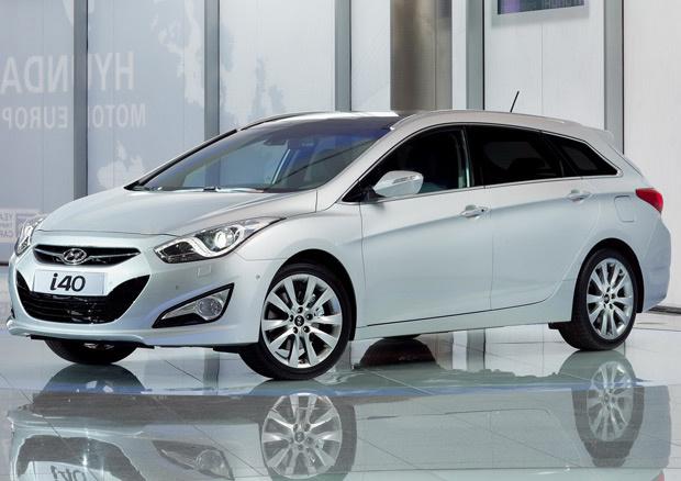 Hyundai i40 foi concebido especificamente para o mercado europeu - Crédito: Foto: Divulgação