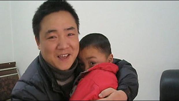 Peng Gaofeng e Lele - Crédito: Foto: BBC