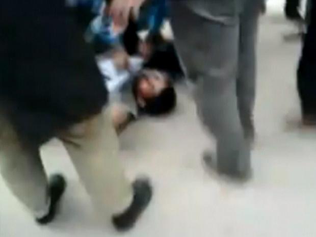 Imagem de confronto em Benghazi nesta quinta - Crédito: Foto: BBC