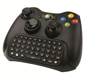Chatpad se acopla no controle do X360 e permite conversar por meio de texto - Crédito: Foto: Divulgação