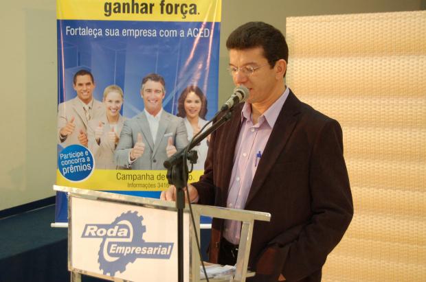 Antônio Freire ressalta que Observatório Social é de toda a diretoria da Aced - Crédito: Foto: Jorge Yamashita