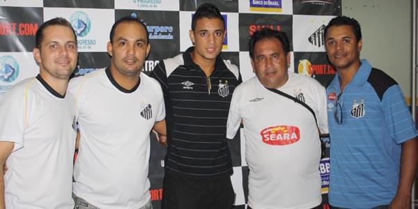Luiz Antonio, Fabiano, Venício, Jonas e Jean. -