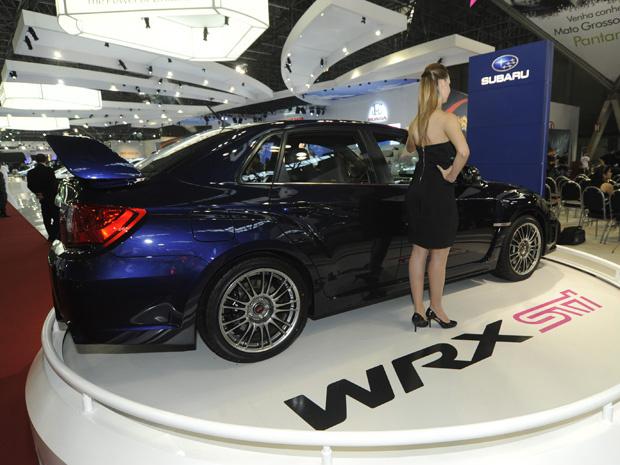 Subaru WRX STI Sedã - Crédito: Foto: Flavio Moraes/G1