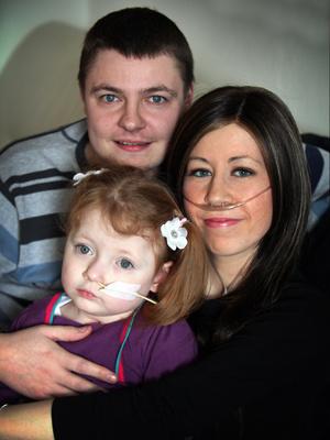 Stacey agora passa mais tempo com o marido e a filha - Crédito: Foto: Newcastle Evening Chronicle